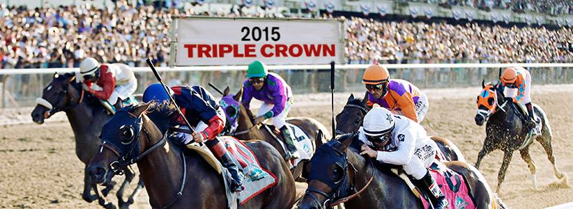 2015 Triple Crown - American Pharoah, the Baffert-trained favored horse stole the show, going down in the books as the 12th Triple Crown winner.